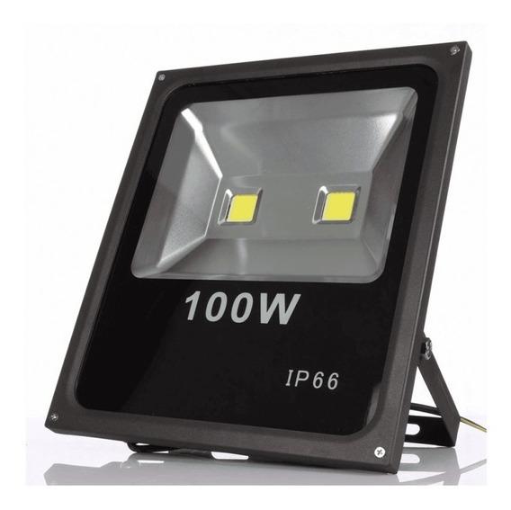 Kit 10 Refletores Led Maxtel 100w - Holofote Branco Frio