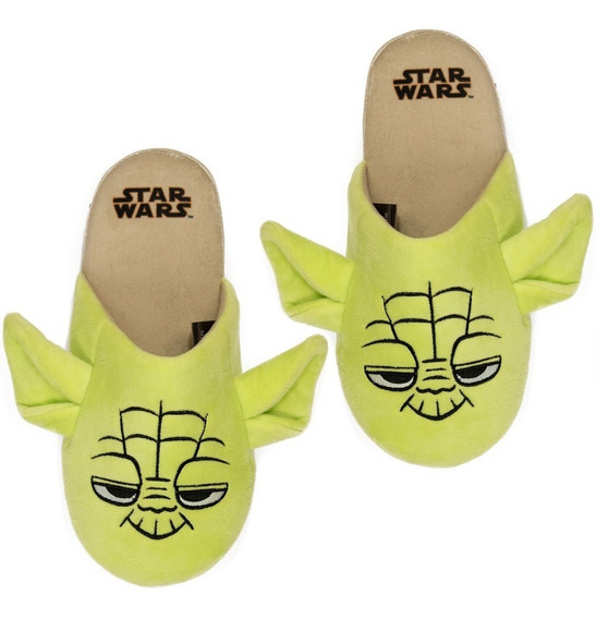 Chinelo Pantufa Unissex Star Wars Yoda Lançamento 2019 Ricsen