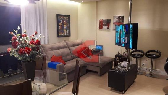 Apartamento Com 2 Dormitórios Para Alugar, 86 M² Por R$ 2.100/mês - Chácara Inglesa - São Bernardo Do Campo/sp - Ap3011
