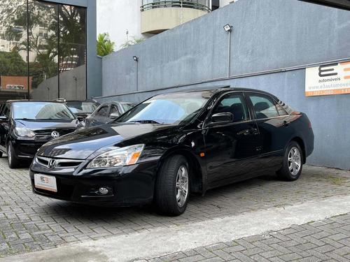 Honda Accord Ex 3.0 2007 / 2007 Blindado