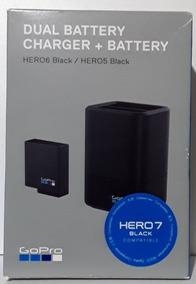 Carregador Duplo Hero 5 6 7 Black + Bateria Gopro Aadbd-001