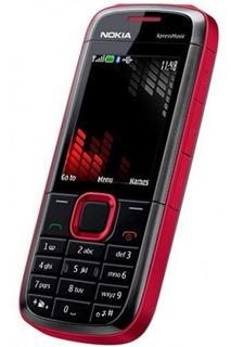 Nokia 5130 Xpressmusic Red Novo Orig. Frete Gratis Envio J Á