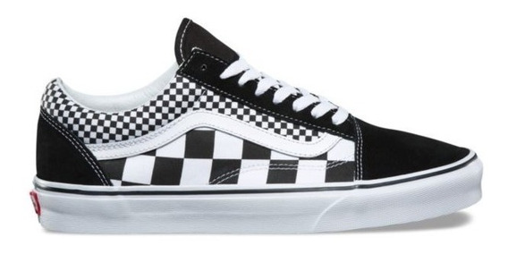 Tenis Vans Old Skool Mix Checkerboard Black/true White