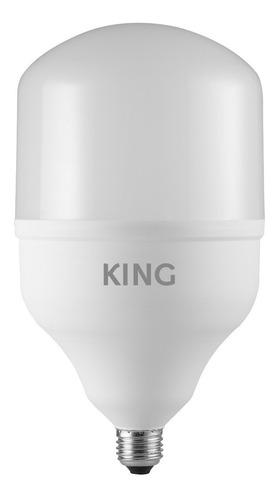 King Lampara Led Bulbo T140 - Blanco Frío 50w E27 6500k