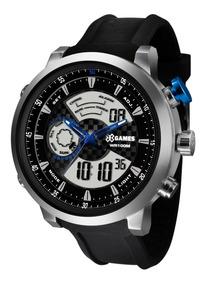 Relógio X-games Masculino Anadigi Xmspa015 P2px Aço Oferta