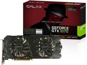 Placa De Vídeo Galax Geforce Gtx 1070 Ex