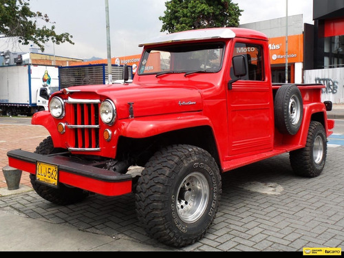 Jeep Willys Pick-up Platon 2.800 At