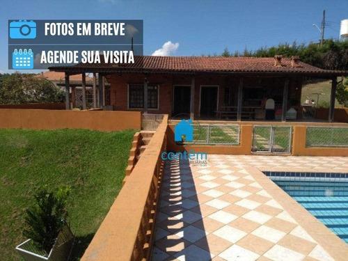 Choo16 - Chácara Com 3 Dormitórios À Venda, 12500 M² Por R$ 1.990.000 - Parque Recreio Mirante - São Roque/sp - Ch0016