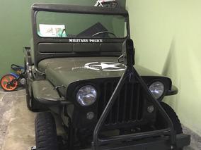 Jeep Jeep 1951 Militar Sem Doc