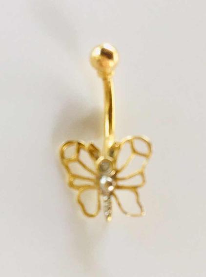 Piercing De Umbigo Ouro 18 K