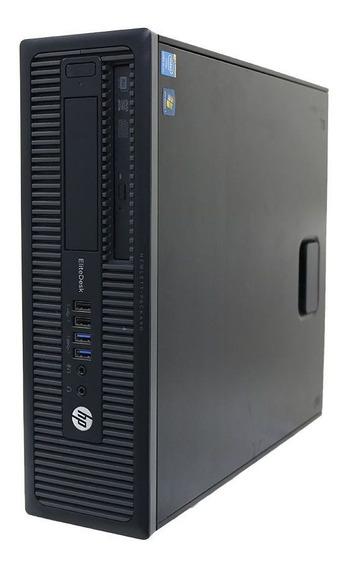 Desktop Hp Compaq Elite 800g1 Slim I7 8gb 2tb - Usado