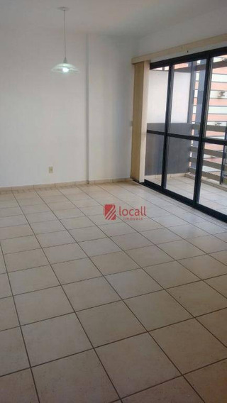 Apartamento Residencial Para Locação, Jardim Francisco Fernandes, São José Do Rio Preto. - Ap1272