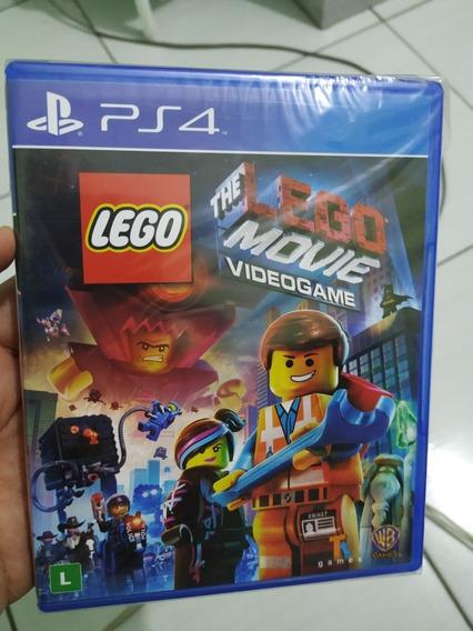 Lego Movie Vídeo Game Ps4 Mídia Física Lacrada Português