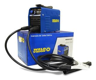 Inversora De Solda Para Eletrodo Mini-120 Weld Vision 220v