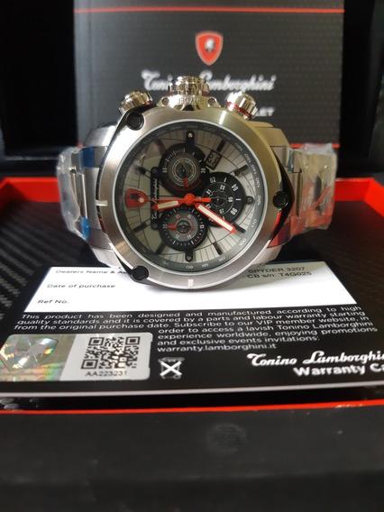 Spyder 3200 Cronógrafo Cinza Dial Assista Men3207