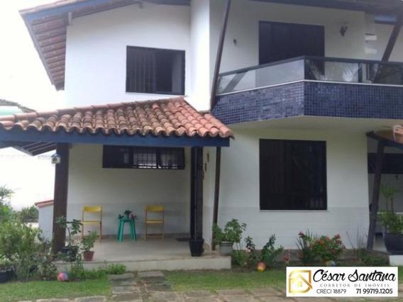 Casa 2 Suítes Na Praia De Buraquinho - Lauro De Freitas - Ca00500 - 34178108