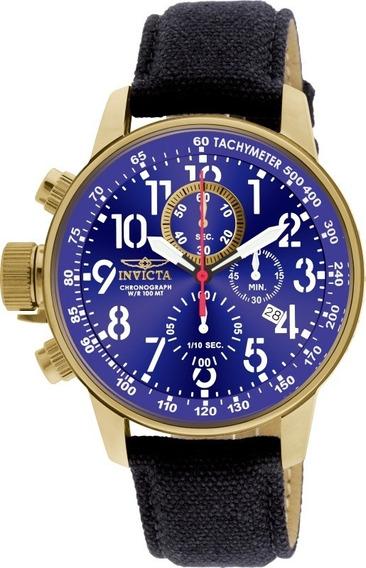 Relógio Invicta I Force 1516 Banhado Ouro Envio 24 Horas