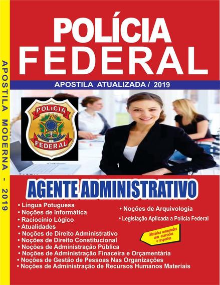 Apostila Pf Agente Administrativo 2020