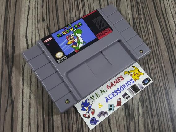 Super Mario World Em Português P/ Super Nintendo + Garantia!