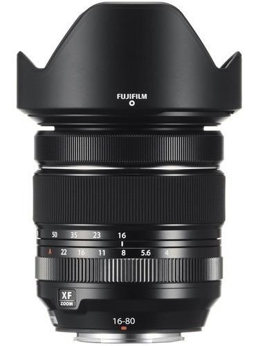 Lente Fujifilm Xf 16-80mm F/4 R Ois Wr - Loja Platinum