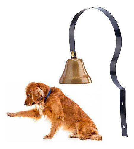 Imagen 1 de 8 de 2pcs Metal Mascota Perro Puerta Timbre Entrenamiento Casa Ho