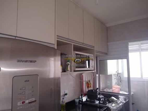 Apartamento Com 2 Dormitórios Para Alugar, 48 M² Por R$ 1.400,00/mês - Vila Antonieta - São Paulo/sp - Ap2296