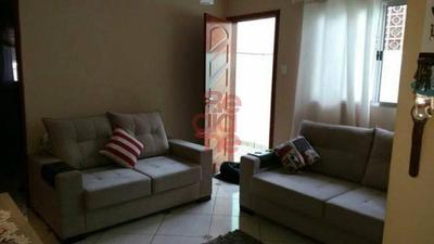 Casa Térrea Para Venda No Bairro Vila Guaraciaba, 2 Dorm, 0 Suíte, 2 Vagas, 74 M - 2071