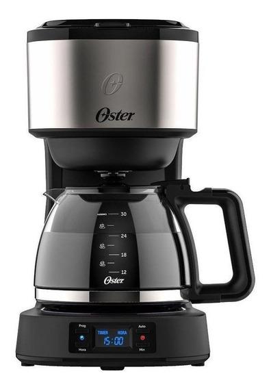 Cafeteira Oster Day Light OCAF500 Preta/Prata 220V