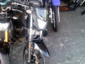 Yamaha Mt-03 Mt 03 321 2017 Preta Gasolina