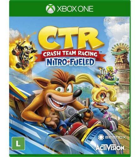 Jogo Crash Team Racing Nitro Fueled Xbox One Fisica Portugu