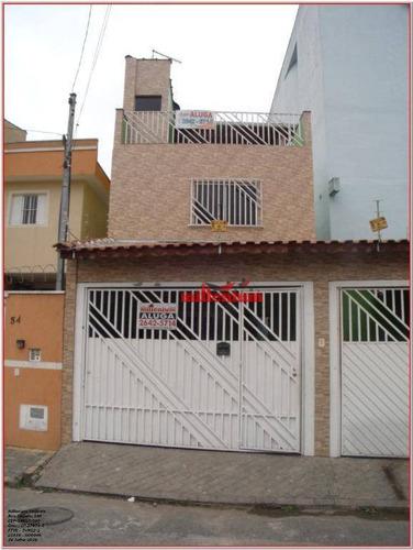 Sobrado Com 2 Dormitórios Para Alugar, 120 M² Por R$ 1.900,00/mês - Vila Laís - São Paulo/sp - So0046
