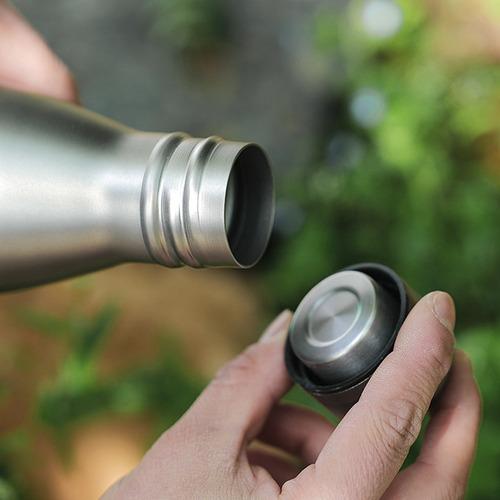 680 ml Botella de Agua de Titanio Botella Ligera para Deportes Al Aire Libre para Acampar Senderismo Ciclismo Mochilero Lixada 550 ml