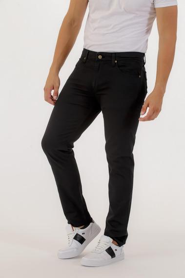 Pantalon Vestir Gabardina Pato Pampa Negro 5 Bol