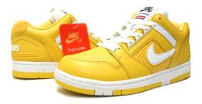 Tênis Nike Sb Air Force 2 Low Supreme Varsity Maize,imediato