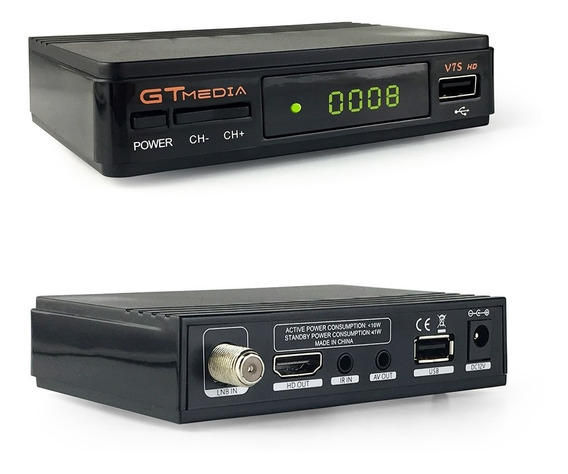 Gtmedia V7s Con Wifi Envio Gratis 3 Meses Rmx C70