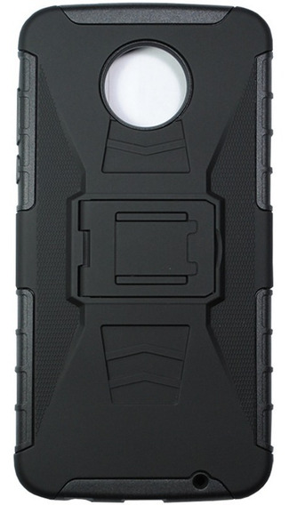Funda Uso Rudo Moto Z2 Play + Cristal Templado