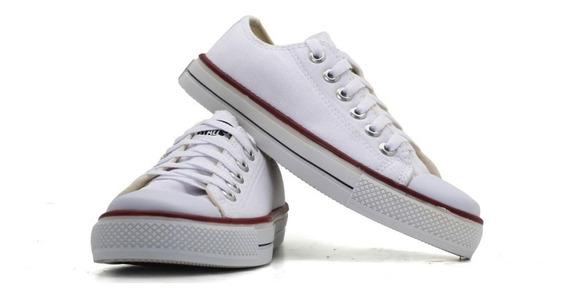 Tênis Converse All Star Chuck Taylor Vulcanizado Branco