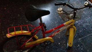 Bicicleta Rodado 20 Con Rueditas