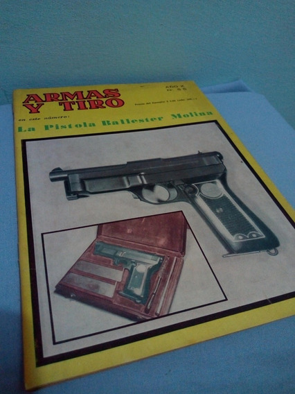 Revista Antiga Argentina Armas Y Tiro