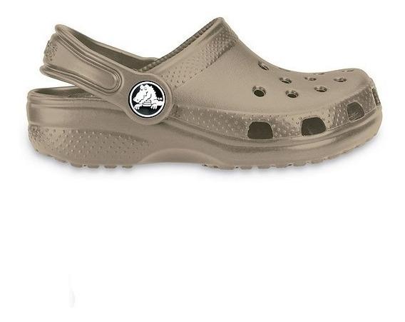 Crocs Classic Kids Originales Niños Khaki