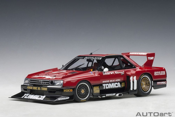 Nissan Skyline Rs Turbo Silhouette 1982 Tomica 1:18 Autoart
