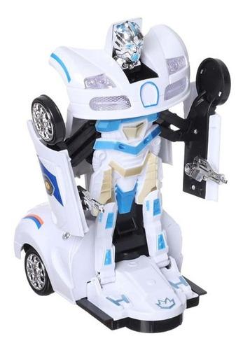 Auto Robot Transformers 2en1 Luces Sonido Mech Pionner Mnr