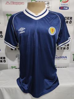 Camisa Escocia Copa Do Mundo 1982 Jonh Wark 10