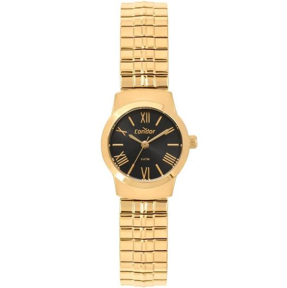 Relógio Condor Feminino Dourado Mola Co2035kyw/4p