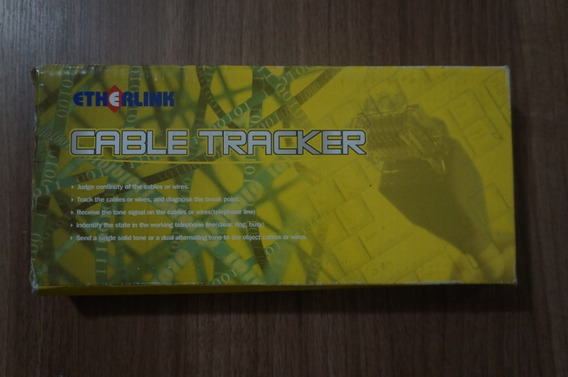 Kit Localizador De Cabos Cable Tracker Wh-461