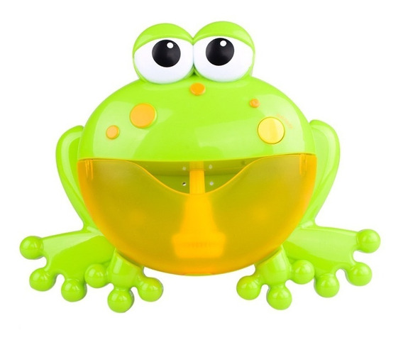 Brinquedo Da Bolha Sapo Musical Espuma Para Banho Criança
