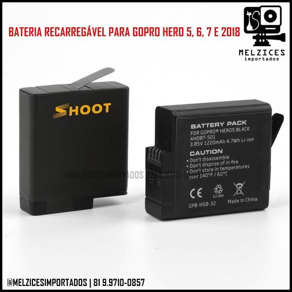 Bateria Para Gopro Hero 5, 6, 7, 8 Black E 2018
