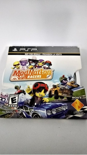 Psp Mod Nation Racers. Fun Labs.