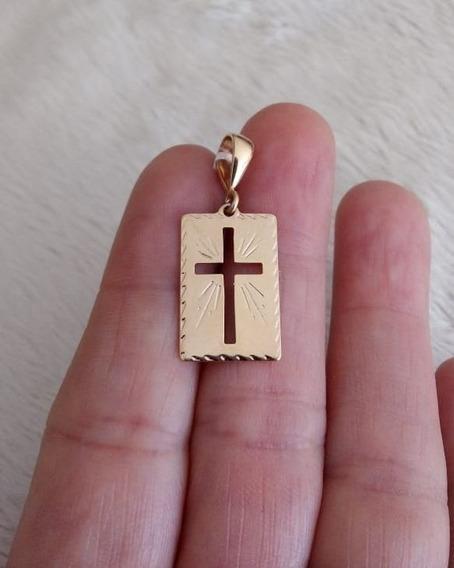 Cordão Rommanel Masculin 60cm + Medalha Cruz 540104 530614 .