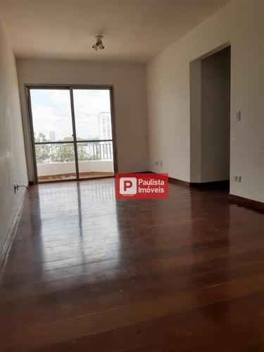 Apartamento Para Alugar, 65 M² Por R$ 2.200,00/mês - Campo Belo - São Paulo/sp - Ap32007